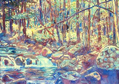 Painting - Lighting The Creek by Kendall Kessler