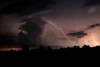 Photograph - Lighting The Night by Robert Camp