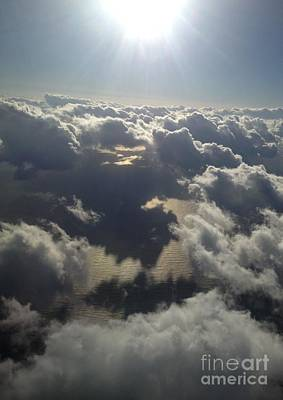 Cumulus Photograph - Lighting The Sea Of Japan by Greg Cross