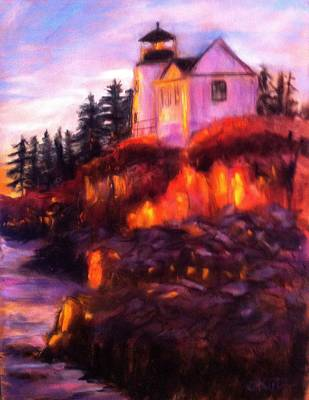 Painting - Lighting The Way by Gail Kirtz
