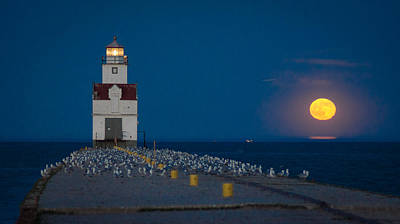 Photograph - Lighting Up The Night by Bill Pevlor