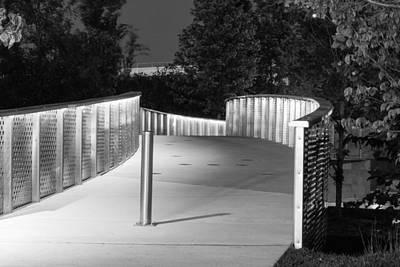 Photograph - Lighting Your Walk by Robert Hebert