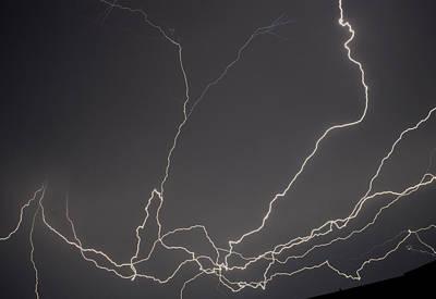 Lightning 6a Art Print