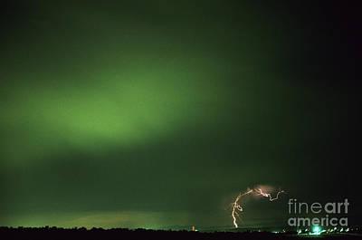 Photograph - Lightning by Jim Corwin