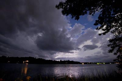 Photograph - Lightning Lighting 2 by Gary Eason