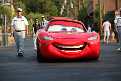 Photograph - Lightning Mcqueen by Michael Albright