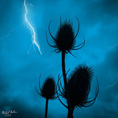 Lightning Spikes Original by Michael Rucker