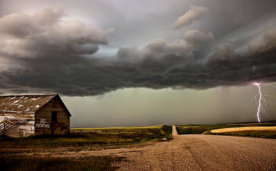 Lightning Storm Art Print by Mark Duffy