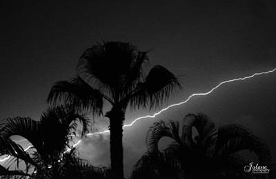 Photograph - Lightning Strike by Jody Lane