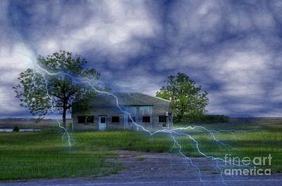Photograph - Lightning Strike by Liane Wright