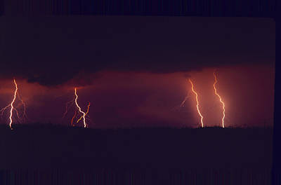 Photograph - Lightning Strikes by Paul Miller