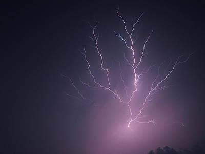 Lightning...energy Art Print by Tom Druin