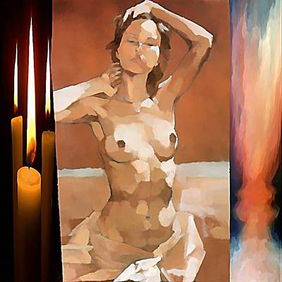 Firefighter Patents - Lightofawoman by Francesco Bertucci