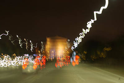 Photograph - Lights 13 by Kelly Smith