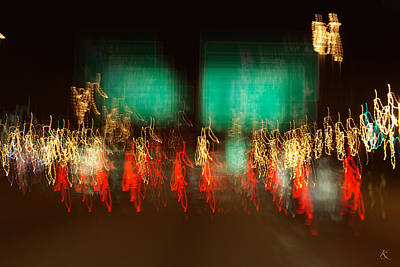 Photograph - Lights 7 by Kelly Smith