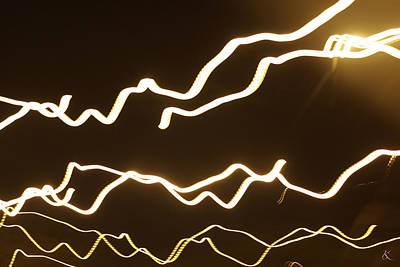 Photograph - Lights 8 by Kelly Smith