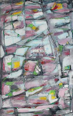 Lights Along The Way Art Print by Hari Thomas
