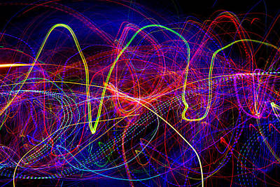 Photograph - Lights In Motion Mg_7265 by David Orias