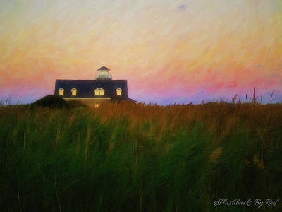Painting - Lights In The Sea Oats by Melody McBride