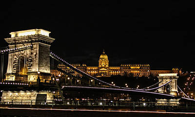 Lights Of Budapest Art Print