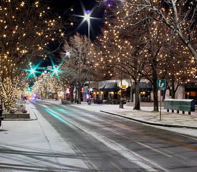 Photograph - Lights Of Ft. Collins by Trent Mallett