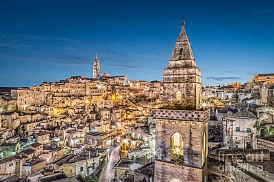 Basilicata Photograph - Lights Of Matera by JR Photography