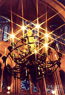 Photograph - Lights Of Notre Dame by Elizabeth Hoskinson