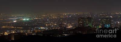 Lights Of Tehran, Iran Art Print by Babak Tafreshi