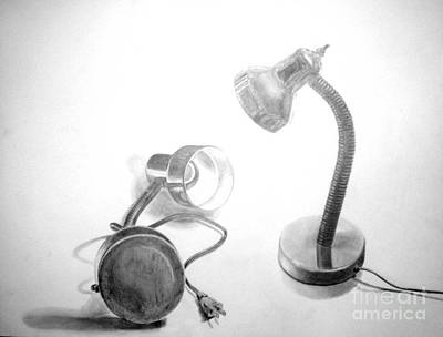 Drawing - Lights by Tamir Barkan