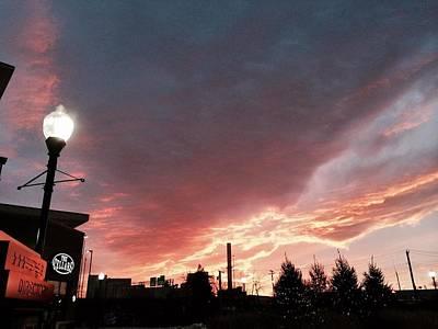 Locust Sunset Photograph - Lights The Whole Sky by Toni Martsoukos