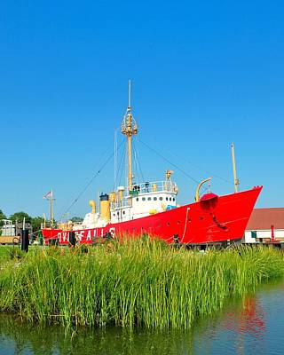 Photograph - Lightship Overfalls 2 by Kim Bemis