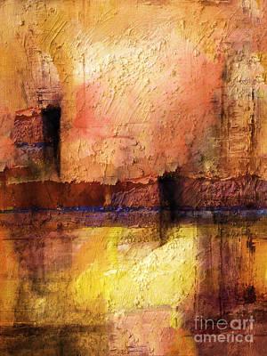 Colorfields Painting - Lightspace by Lutz Baar