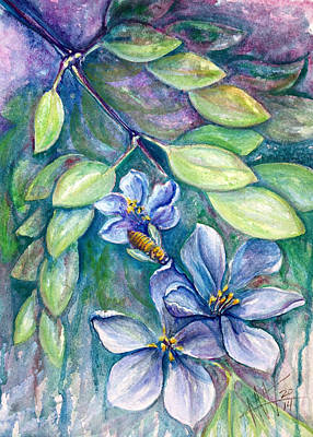 Painting - Lignum Vitae by Ashley Kujan