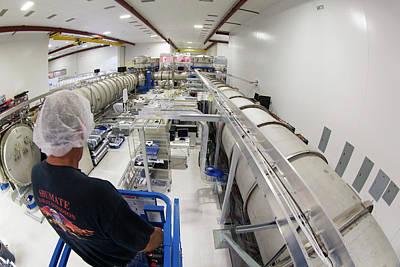 Ligo Gravitational Wave Detector Laser Art Print by Caltech/mit/ligo Lab