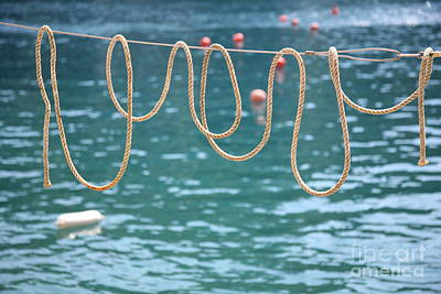 Photograph - Ligurian Loops  by Lynn England