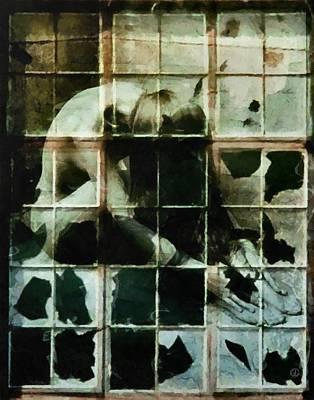 Giving Digital Art - Like A Broken Window by Gun Legler