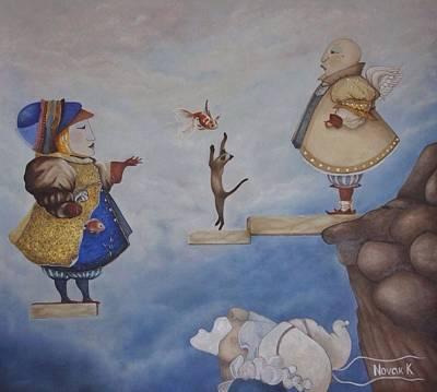 Novak Painting - Like A Dream by Kristina Novak