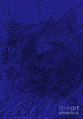 Digital Art - Like Be In The Blue  by Oksana Semenchenko