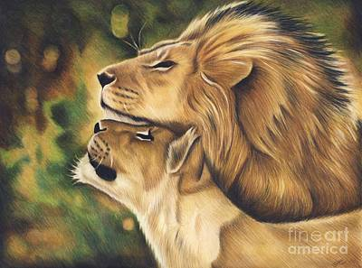 Like Father Like Son Art Print by Genevieve Desy