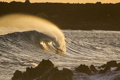 Photograph - Like Lava by Brad Scott