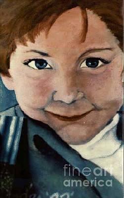 Painting - Lil Bro by Ronda Douglas