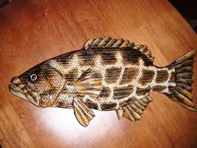 Dryriver Relief - Lil Grouper Number Three by Lisa Ruggiero