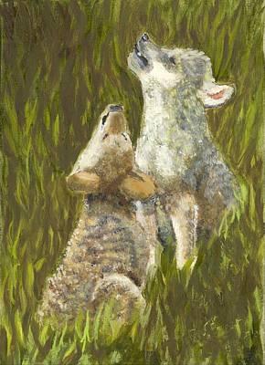 Li'l Howlers Art Print