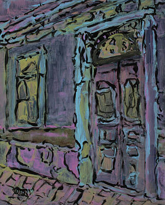 Painting - Lilac House  by Oscar Penalber