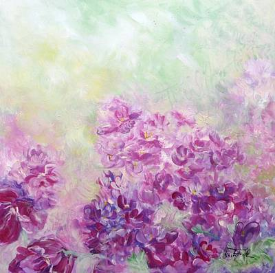 Painting - Lilac Impression by Christa Friedl