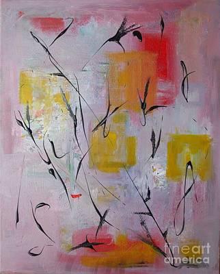 Lilac Print by Jacqueline Howett
