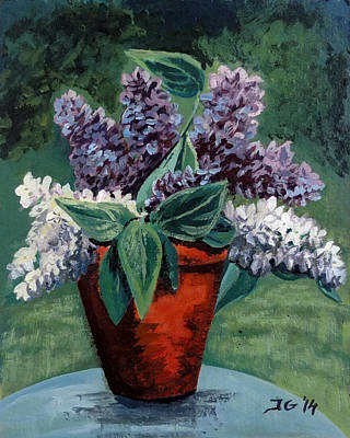 Painting - Lilac by Jana Goode