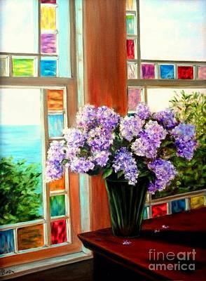 Lilac Reflections Art Print