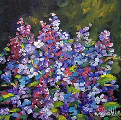 Lilac_burst_by_prankearts Print by Richard T Pranke