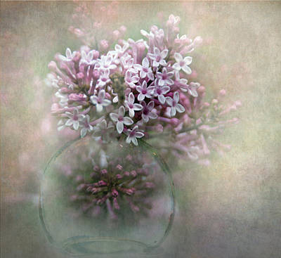 Lilacs For Mom Art Print by Angie Vogel